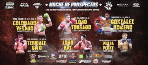 Barlatier & Sanchez Fight Card Weights from Mexico | boxen247.com