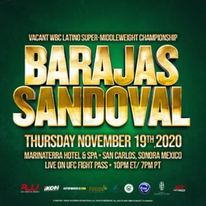 RJJ Boxing & iKON Fighting Return to Mexico | boxen247.com