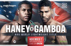 Devin Haney vs Yuriorkis Gamboa Face Off | boxen247.com