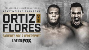 Ortiz & Flores Make Weight (LA Fight Card Weights) | boxen247.com