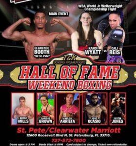 Reis Defeats Wyatt For Female WBA Title in Florida | boxen247.com