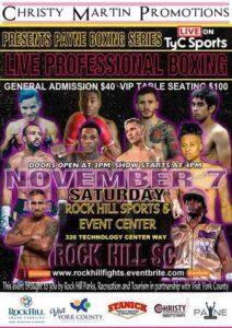 Payne Boxing Series 2 Boxing Results (South Carolina)   boxen247.com