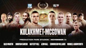 Kulakhmet Defeats McGowan Boxing Results England   boxen247.com