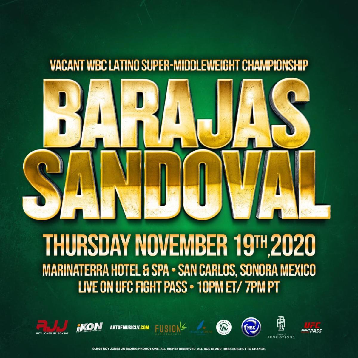 Juan Barajas vs Bruno Sandoval Headlines Thursday | boxen247.com