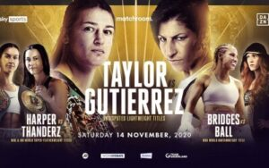 Taylor & Gutierrez Make Weight - Fight Weights London | boxen247.com
