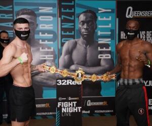 Bentley Defeats Heffron & Boxing Results England | boxen247.com