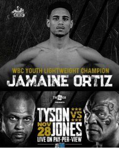 "Jamaine ""The Technician"" Ortiz | Tyson Jones Jr Show | boxen247.com"
