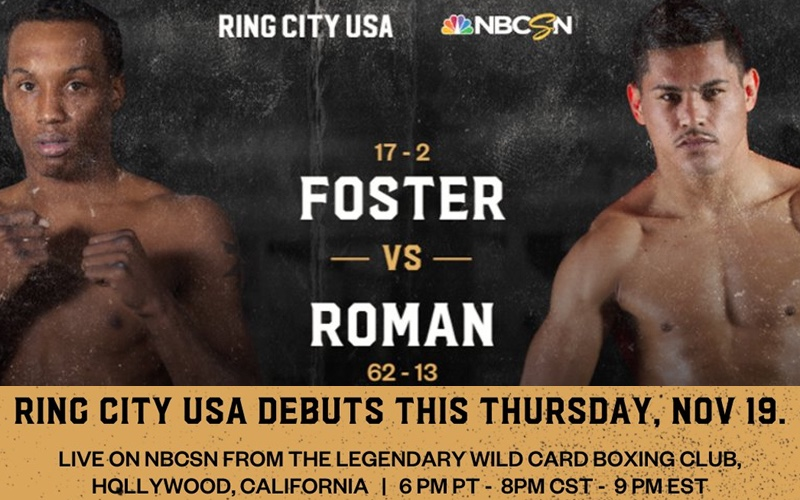 Foster vs Roman Fight Weights & Quotes Los Angeles | boxen247.com