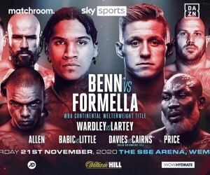 Benn Defeats Formella & Boxing Results From London | boxen247.com