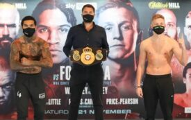 Benn & Formella & Fight Card Make Weight (London) | boxen247.com