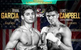 """Ryan Garcia: """"I Know I'm Going to Beat Campbell""""   boxen247.com"""