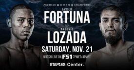 Fortuna vs Lozada FS1 Weights From Los Angeles | boxen247.com