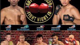 "Melvin ""Melo"" Lopez vs Jesus Martinez Card Weights | boxen247.com"