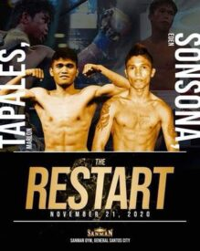 Tapales Defeats Sonsona & Philippines Boxing Results   boxen247.com