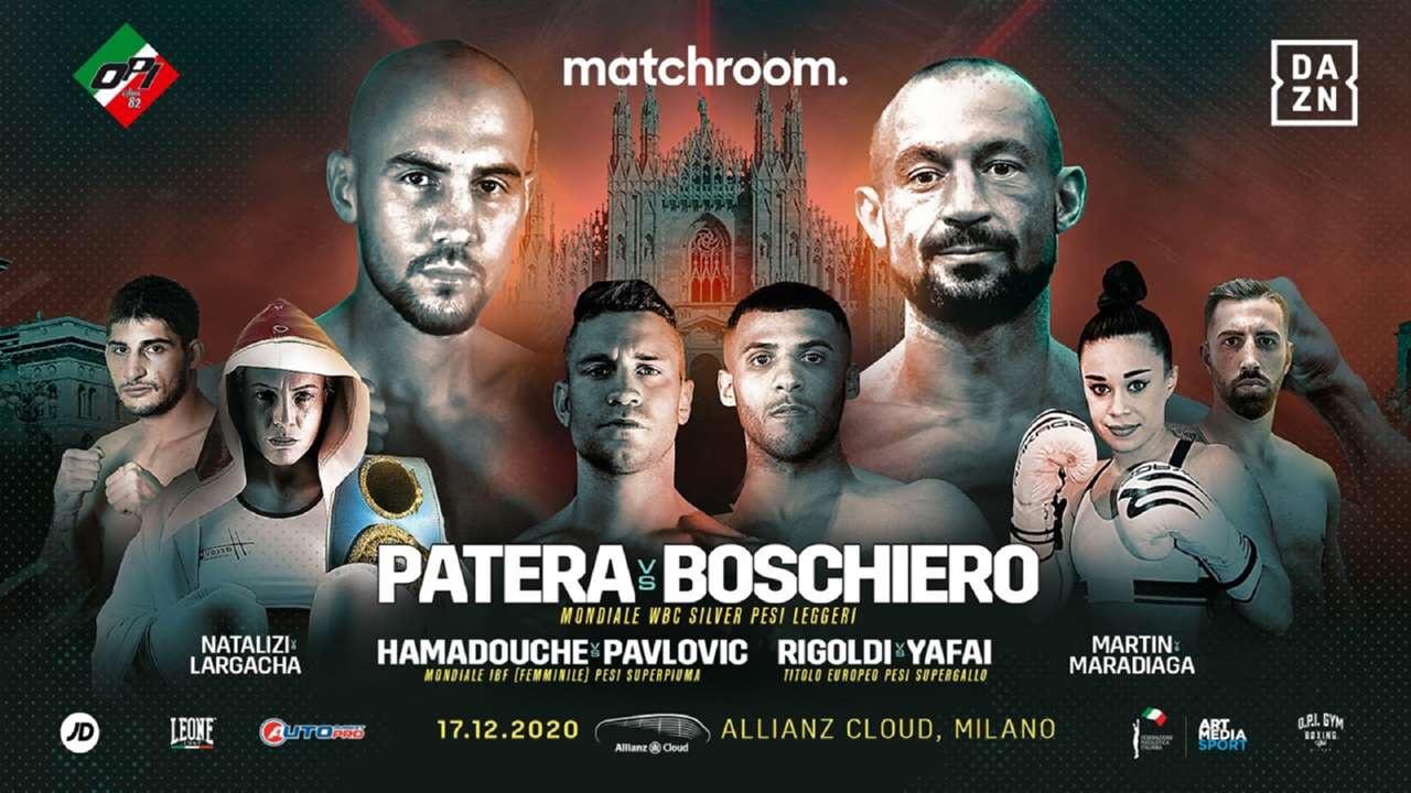 Patera vs Boschiero in Italy on December 17th DAZN | boxen247.com