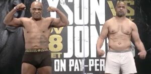 Mike Tyson vs Roy Jones Jr. Fight Weights From L.A. | boxen247.com