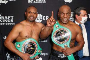 Mike Tyson & Roy Jones Jr. Post Fight Short Quotes | boxen247.com