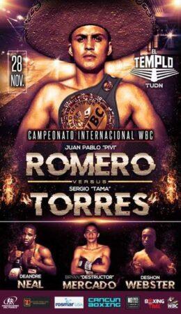 Romero Defeats Torres & Results From Mexico | boxen247.com