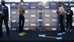 The Scales Defeat Morrell Jr. & Boxing Weights From Los Angeles | Boxen247.com
