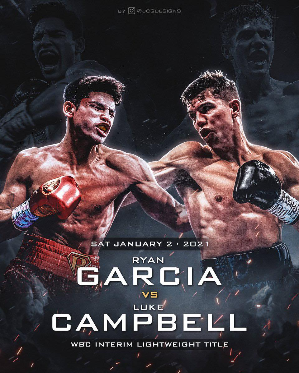 Ryan Garcia Quotes Ahead of Saturday Clash With Luke Campbell | Boxen247.com