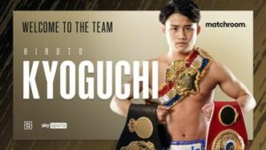 Hiroto Kyoguchi Signs Promotional Deal With Matchroom Boxing | Boxen247.com