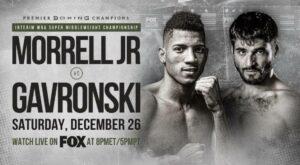Morrell Jr. Defeats Gavronski & James Kirkland KO'd in 1 - L.A Full Results | Boxen247.com
