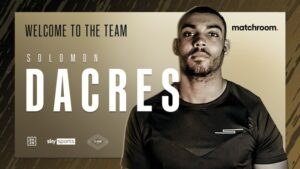 Solomon Dacres Signs Promotional Deal With Matchroom Boxing | Boxen247.com