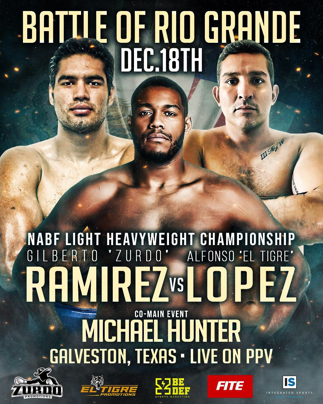 Battle of Rio Grande - Lopez vs Ramirez + Hunter | boxen247.com