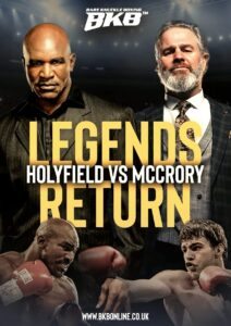 Evander Holyfield to Face Glenn McCrory 100% | boxen247.com