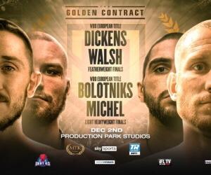 "Dickens & Bolotniks Both Win MTK ""Golden Contracts""   boxen247.com"