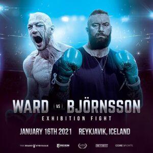 Steven Ward vs Hafthor Bjornsson Jan 16th | boxen247.com