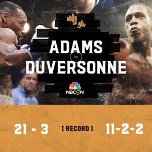 Adams & Duversonne Weights From California | boxen247.com