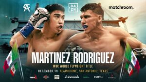 Martinez Defends Against Rodriguez Jr on Canelo Bill | boxen247.com