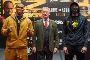 Yarde vs Arthur Final Press Conference   boxen247.com