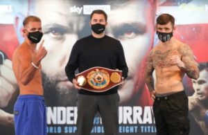 Saunders, Murray & All Card Fighters Make Weight | boxen247.com