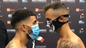 Haithem Laamouz & Mario Alfano Make Weight in Italy | boxen247.com