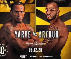 Arthur Defeats Yarde & Boxing Results From England | boxen247.com