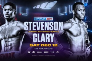 Shakur Stevenson Defeats Toka Kahn Clary & Results From Las Vegas | boxen247.com