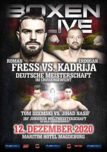 Roman Fress Defeats Erdogan Kadrija & Boxing Results From Germany | boxen247.com