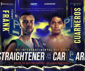 Rosendo Hugo Guarneros Upsets Tommy Frank& Results From Sheffield | boxen247.com