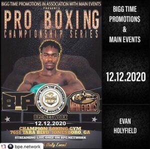 Evan Holyfield Defeats Donnis Reed & Boxing Results From Georgia   boxen247.com