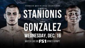 Eimantas Stanionis Defeats Janer Gonzalez & Boxing Results From LA | boxen247.com