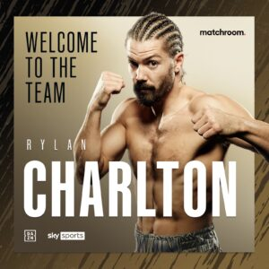 Rylan Charlton Signs With Eddie Hearn's Matchroom Boxing | boxen247.com