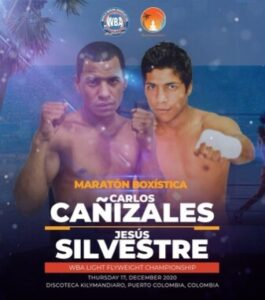 Carlos Cañizales vs. Jesús Silvestre Called Off - Weights From Colombia | boxen247.com