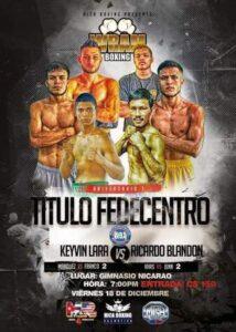 Keyvin Lara vs. Ricardo Blandon Fight Card Weights From Nicaragua | boxen247.com