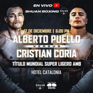 Alberto Puello KOs Cristian Coria & Results From The Dominican Republic | boxen247.com