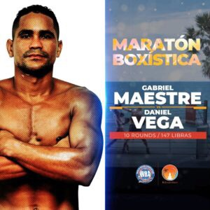 Gabriel Maestre Defeats Daniel Vega & Boxing Results From Colombia   boxen247.com