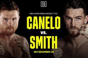 Canelo Defeats Callum Smith & Boxing Results From San Antonio, Texas | boxen247.com