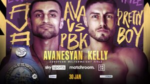 David Avanesyan vs. Josh Kelly on Jan 30th on DAZN & Sky | boxen247.com
