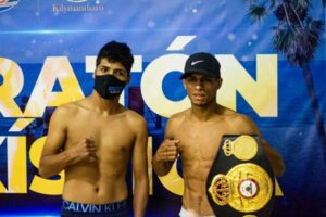 Carlos Cañizales vs. Jesús Silvestre Called Off - Weights From Colombia   boxen247.com